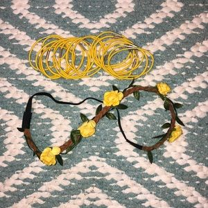 Headband and Hair ties
